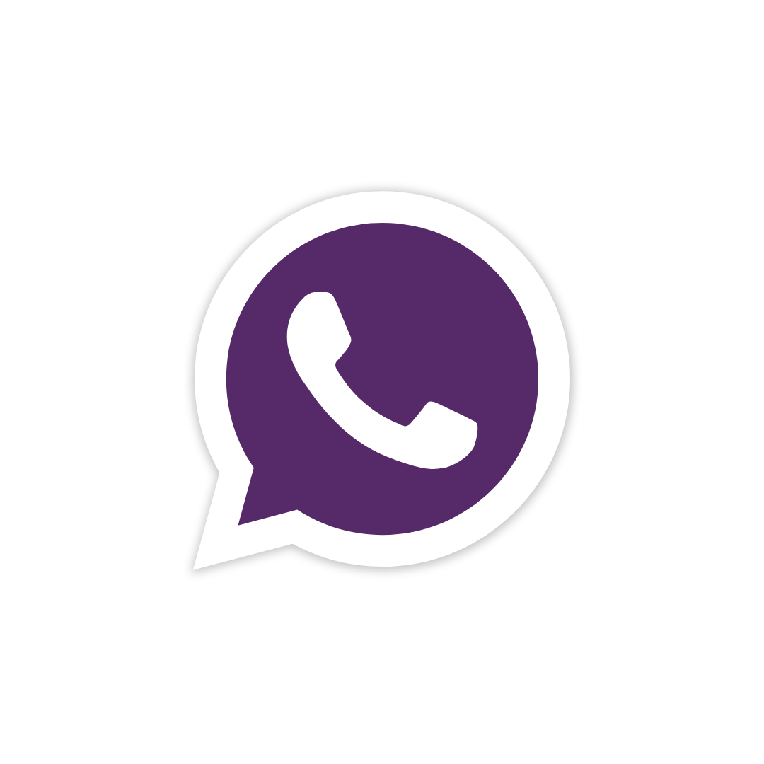 whatsapp roxo